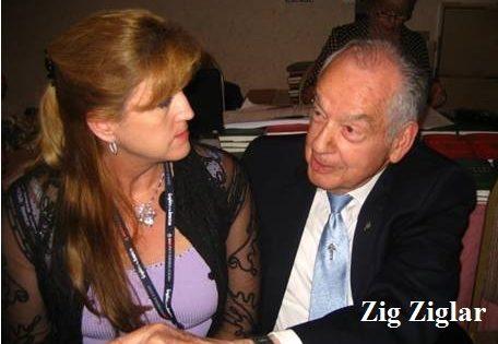 Nancy Matthews and Zig Ziglar