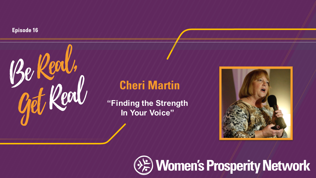 Finding the Strength In Your Voice with Cheri Martin
