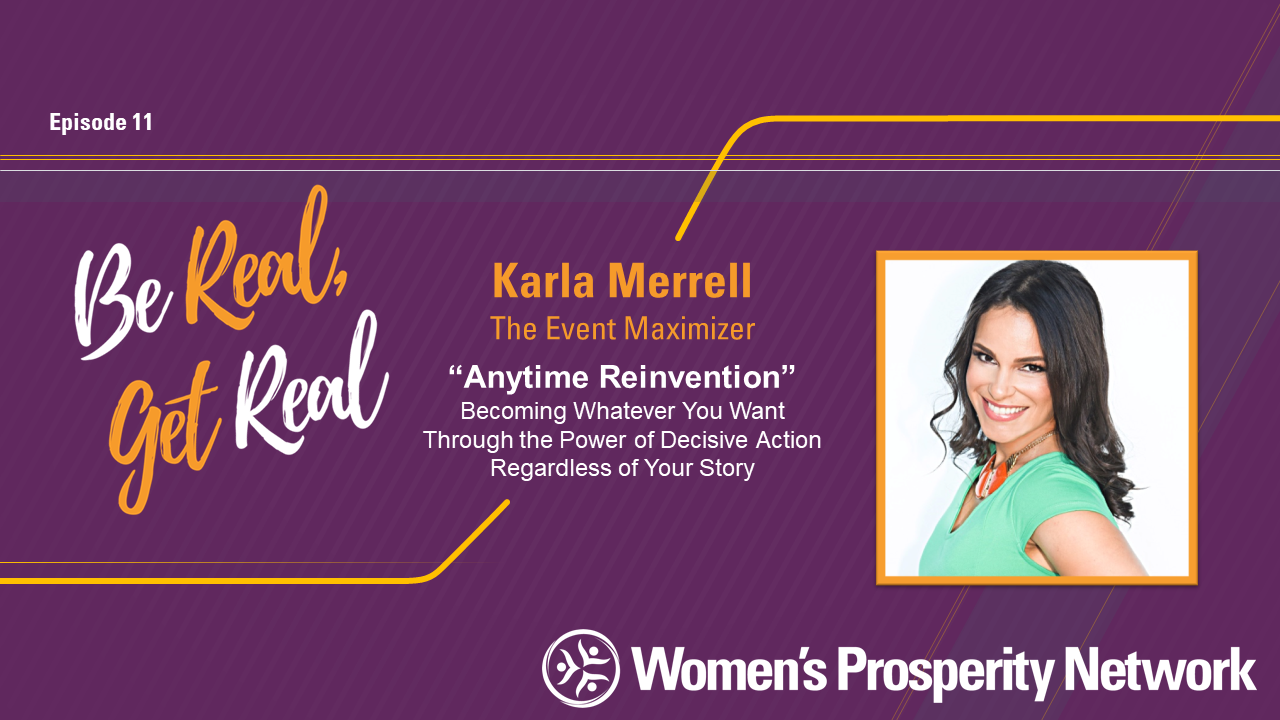 Anytime Reinvention with Karla Merrell