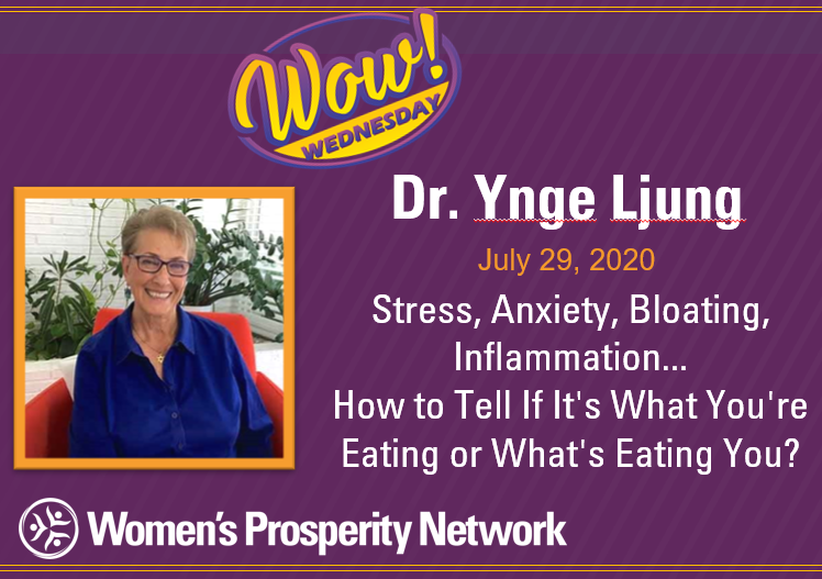 Stress, Anxiety, Bloating, Inflammation… How to Tell If It's What You're Eating or What's Eating You?