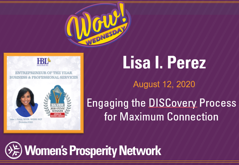 Engaging the DISCovery Process for Maximum Connection