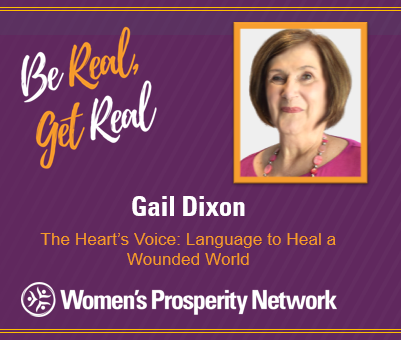 The Heart's Voice: Language to Heal a Wounded World with Gail Dixon