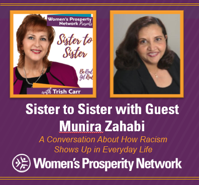 Muslim, of Indian descent, born in Africa and a US citizen, Munira shares her reality of being brown in post-9/11 America. with Munira Zahabi