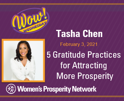 5 Gratitude Practices for Attracting More Prosperity with Tasha Chen